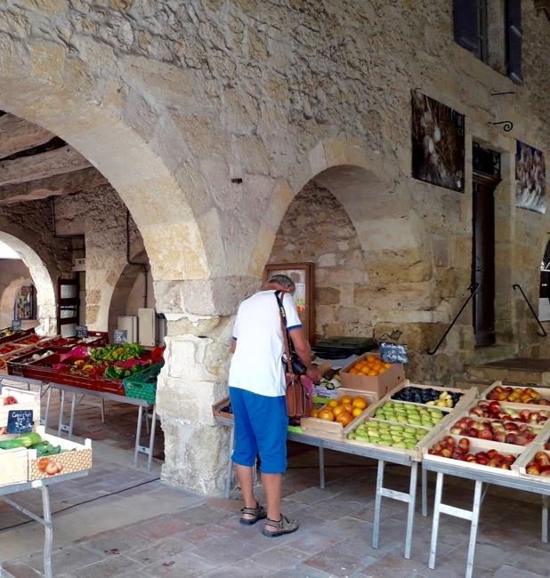 Markt in Masseube
