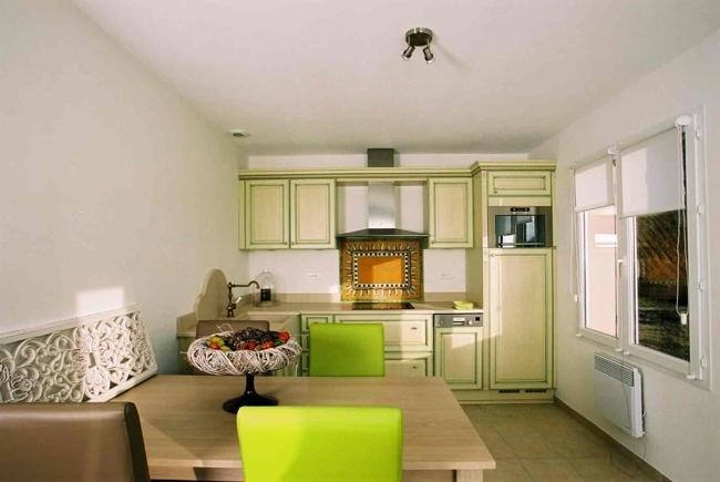 Küche, Wohnbeispiel
