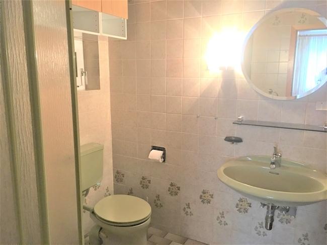 EG-Badezimmer / Zugang vom Schlafzimmer