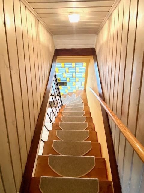 Treppenaufgang Einliegerwohnung