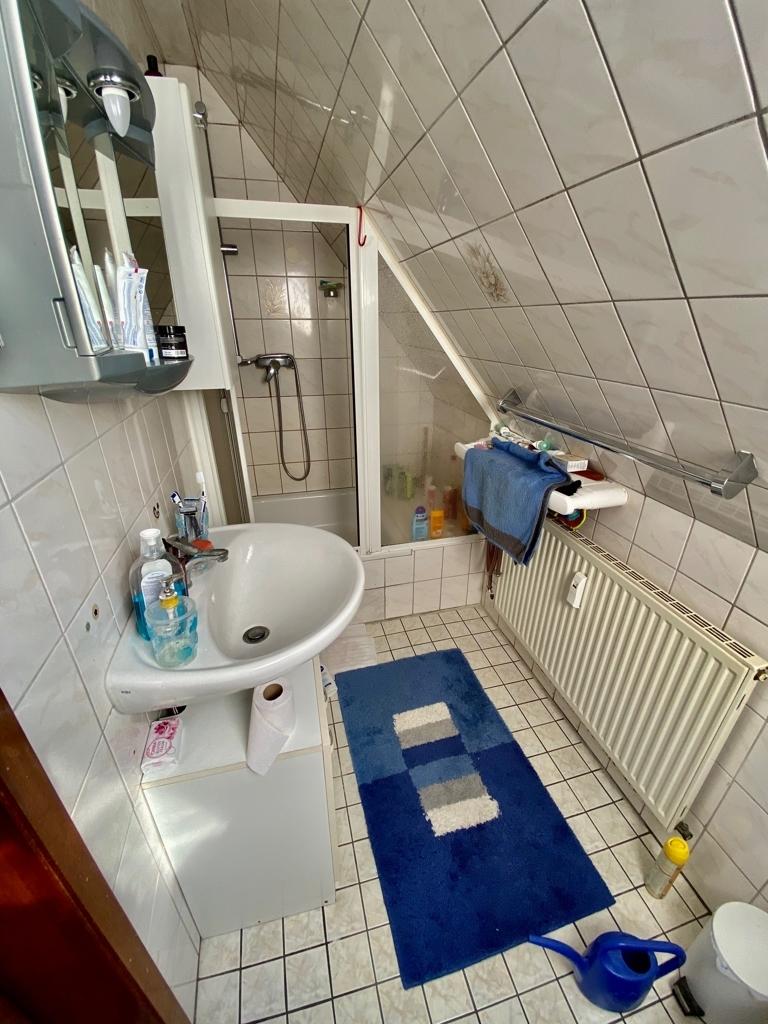 Wohnung 2 Dusche