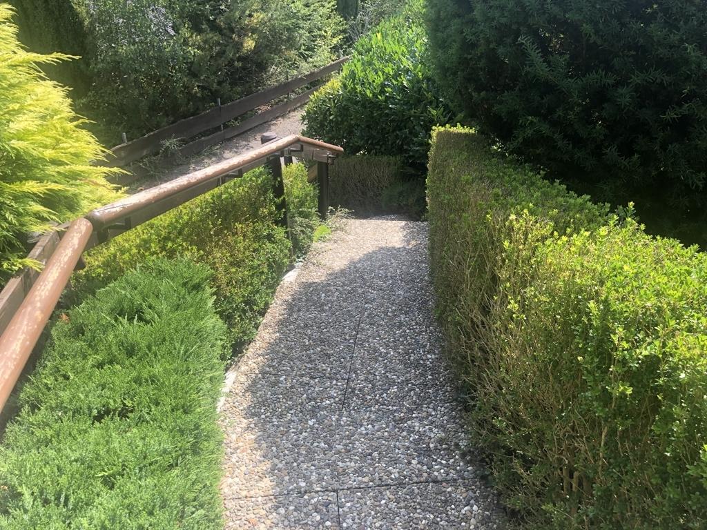 Eingang, Treppe