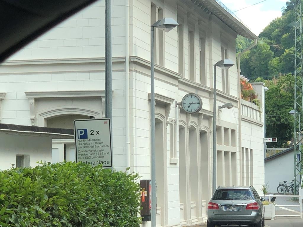 Bahnhof in Bacharach