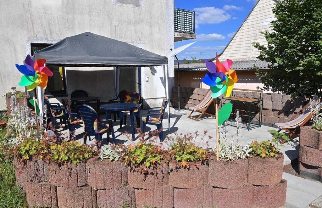 gemütliche, große Terrasse zum Feiern