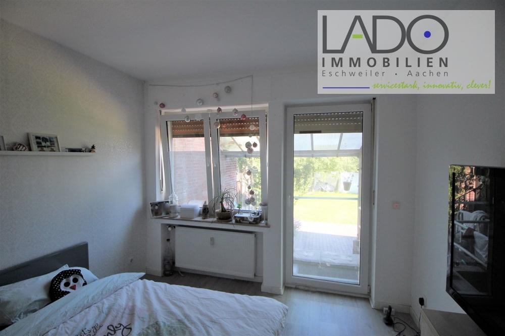 Schlafzimmer Zugang Terrasse