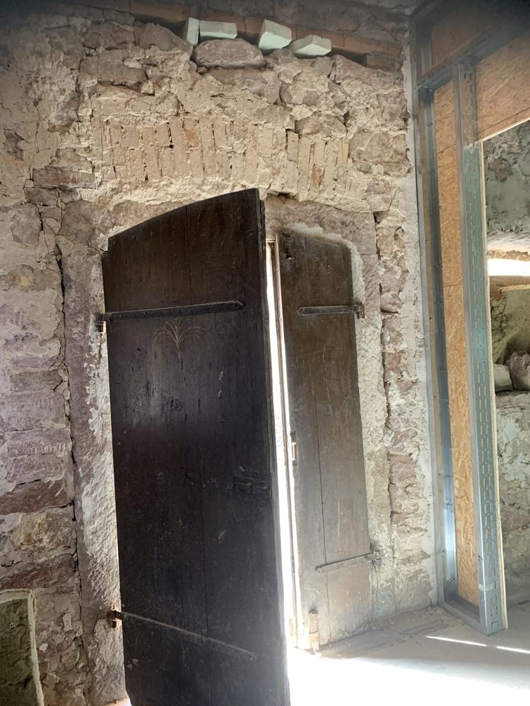 Eingangstor innen