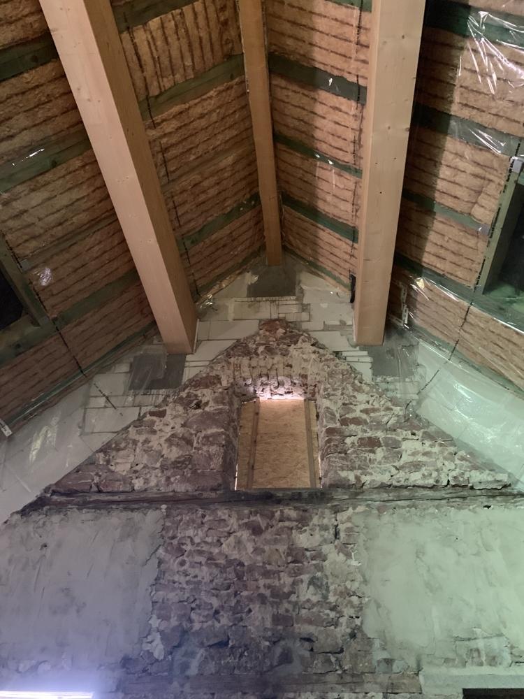 Dach innen & oberes Fenster