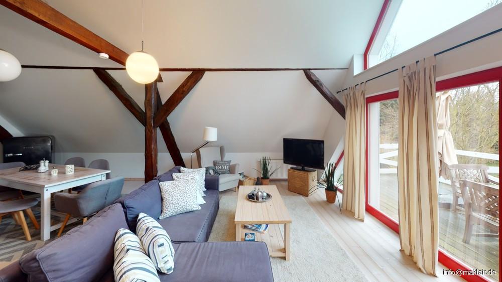 Gästezimmer, OG + Balkon