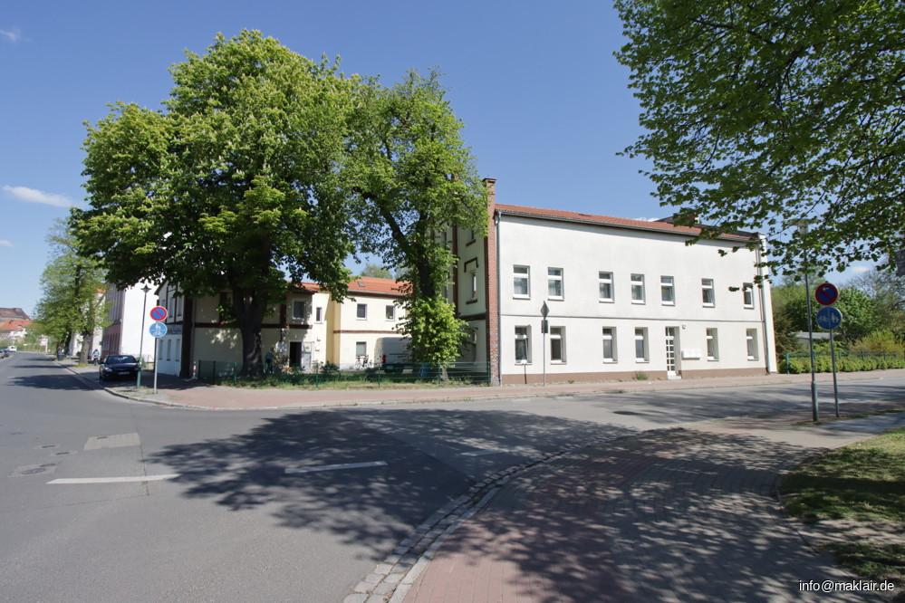 Ansicht Gebäudekomplex