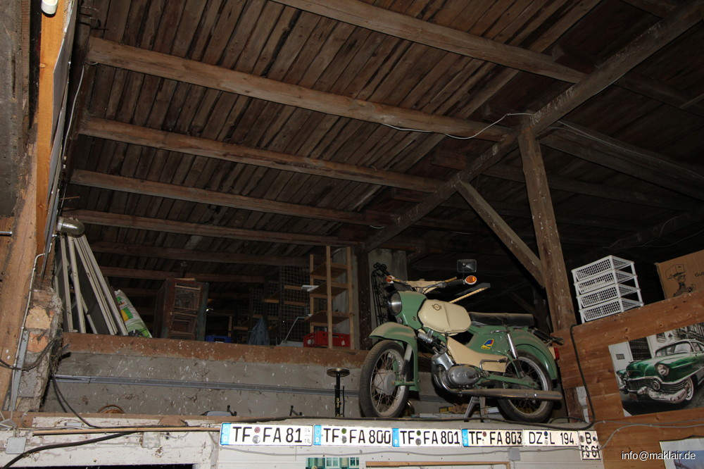 Garage Dachboden