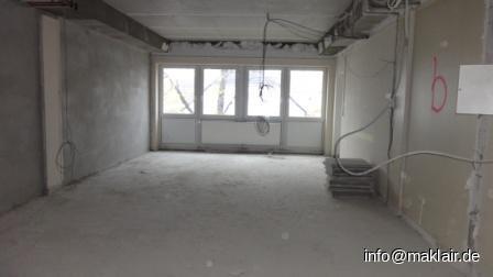 Fensterfront Bürofläche