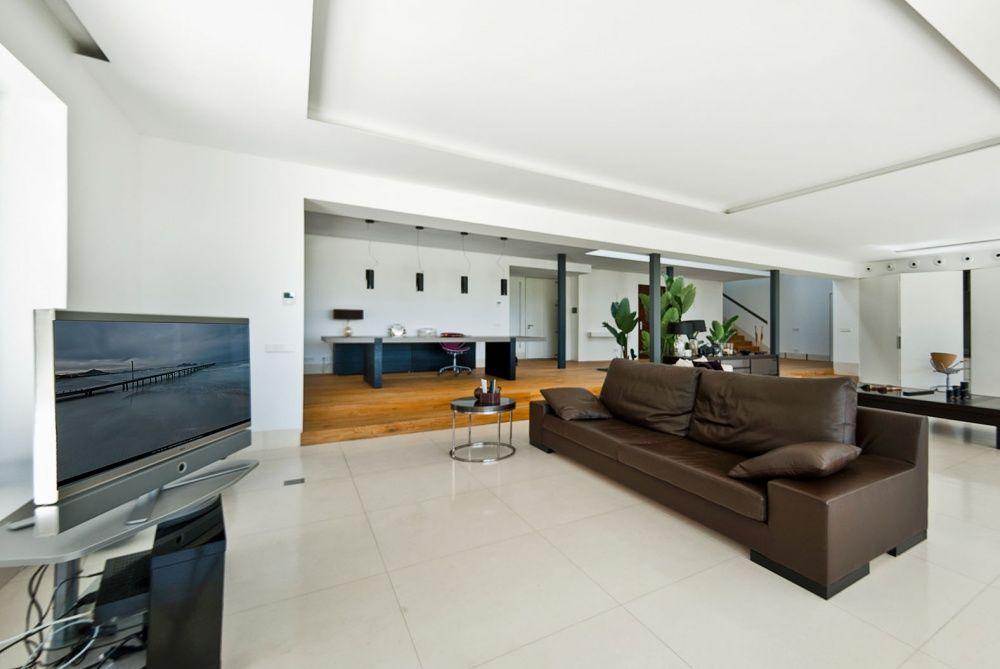Living room of the villa in Son Vida