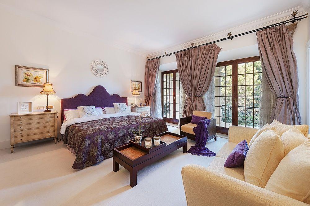 Bedroom of the  Villa in Son Vida