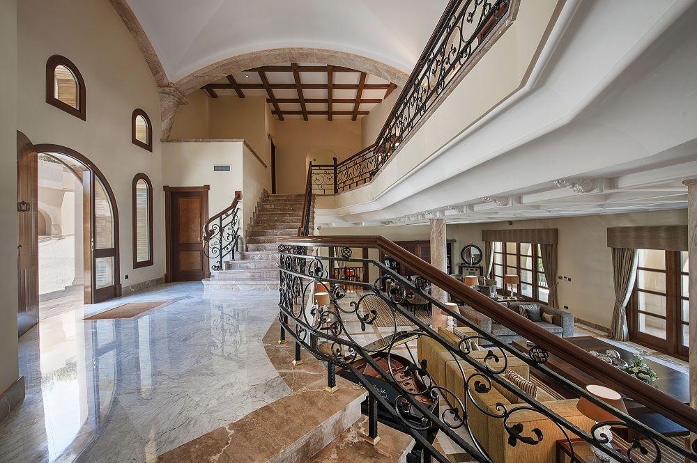 Hall of the villa in Sol de Mallorca