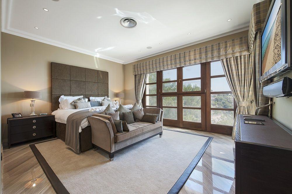 Bedroom of the villa in Sol de Mallorca