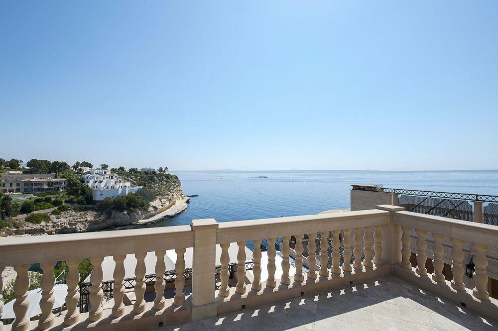 Terrace of the villa in Sol de Mallorca