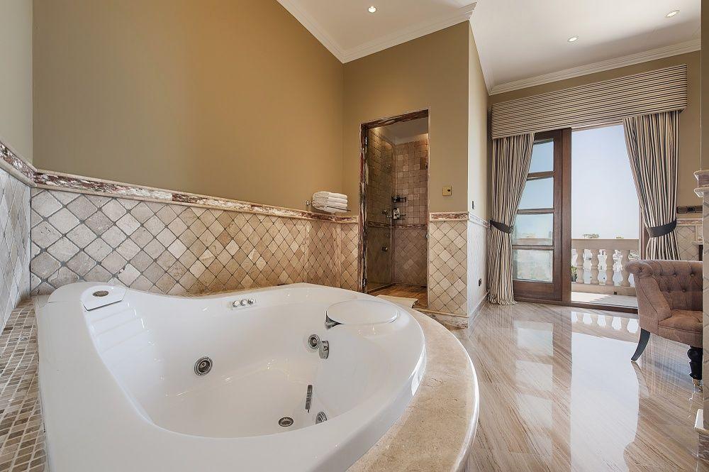 Bathroom of the villa in Sol de Mallorca