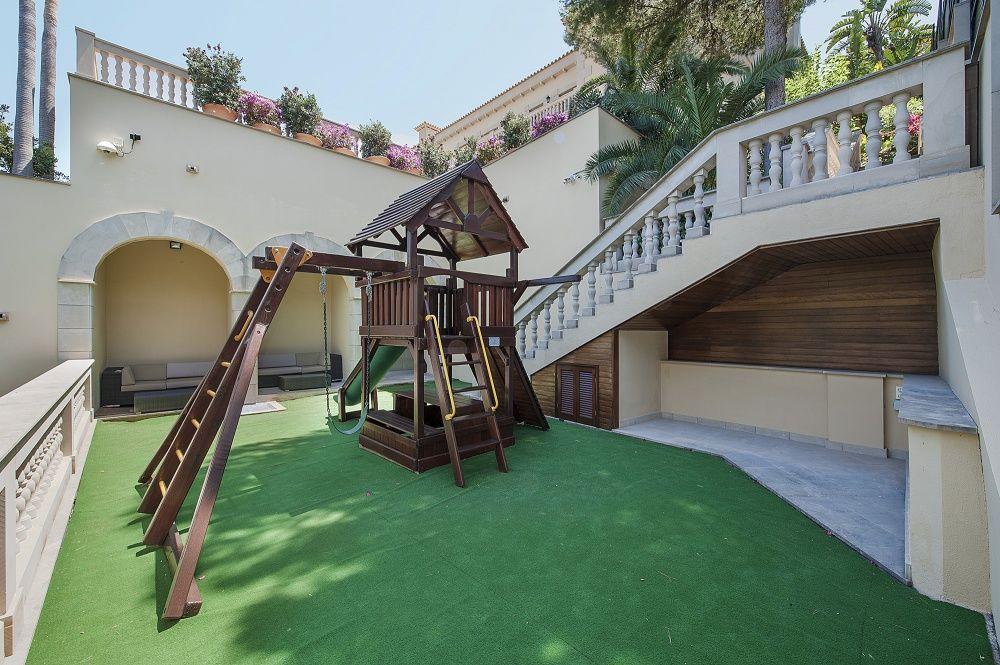 Playground of the villa in Sol de Mallorca