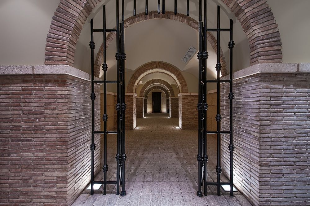 Entrance of the villa in Sol de Mallorca