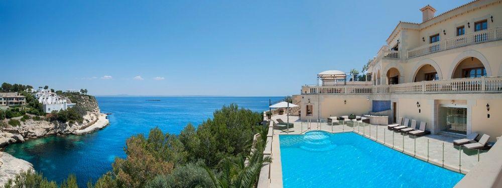 Views of the villa in Sol de Mallorca