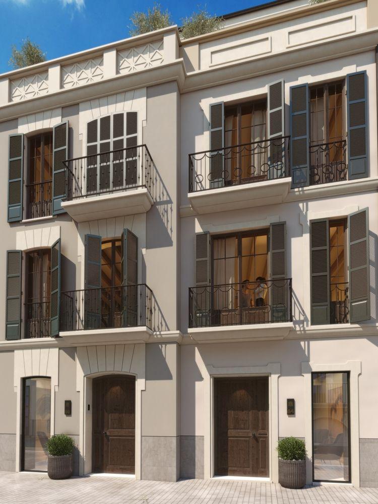 Twin House Exterior facade