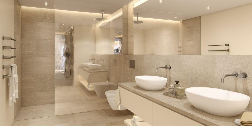 Twin House First floor bathroom zarci