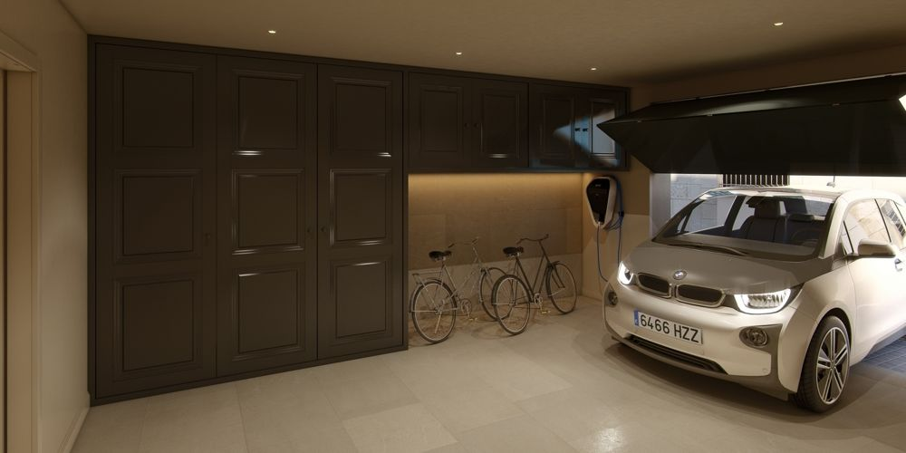 Twin House Ground floor garage