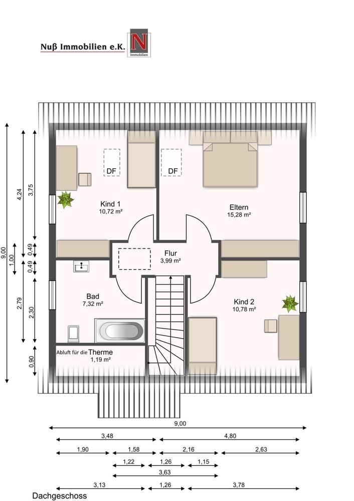 3233-Grundriss Obergeschoss
