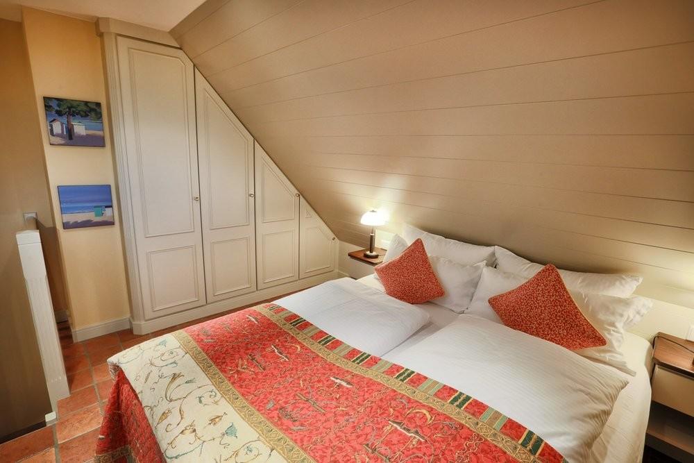 Eines der beiden Schlafzimmer