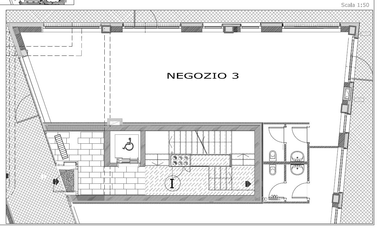 Planimetria Negozio 3