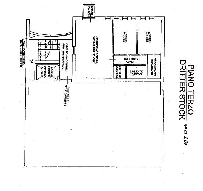Piano Terzo Appartamento