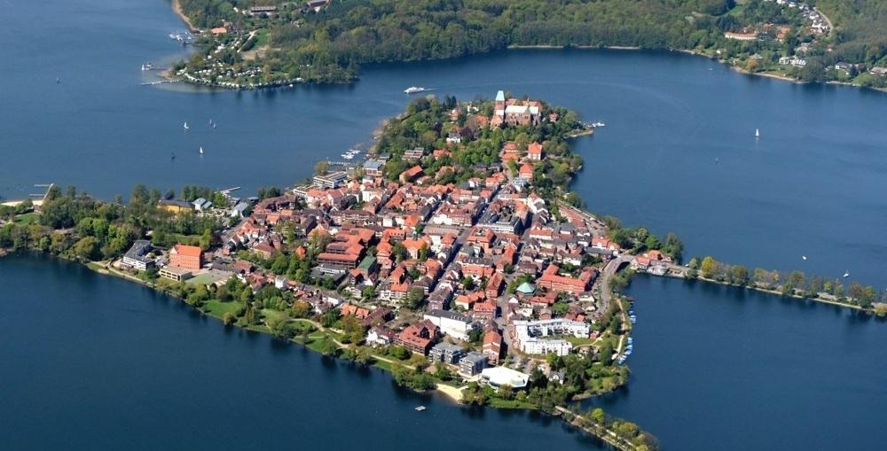 Ratzeburg Luftbild