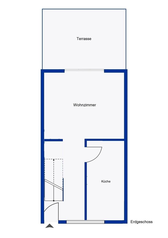 Erdgeschoss mit Küche