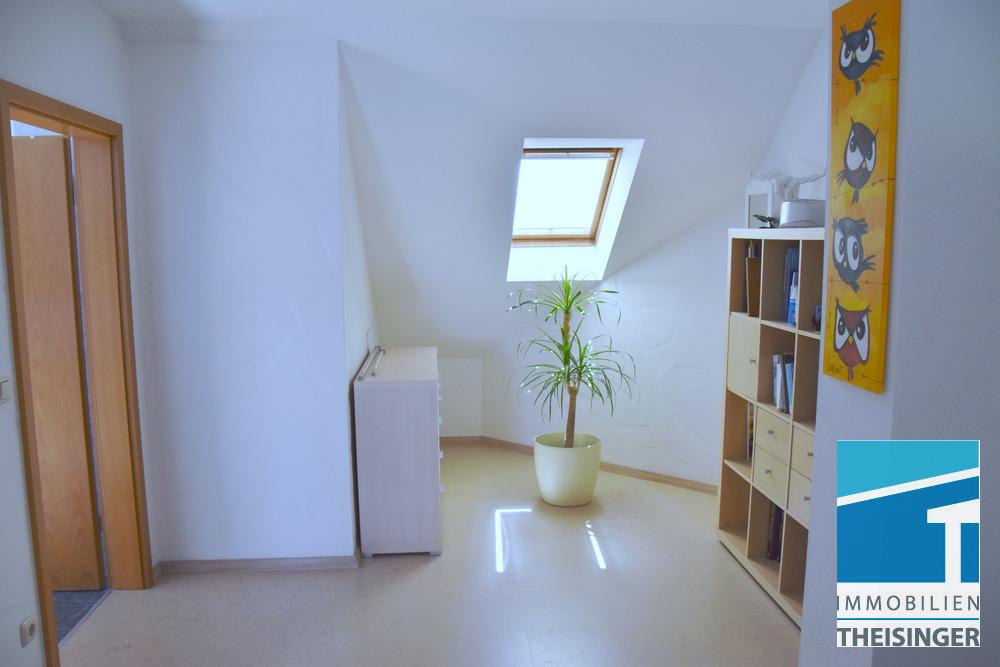 Wohndiele im Dachgeschoß