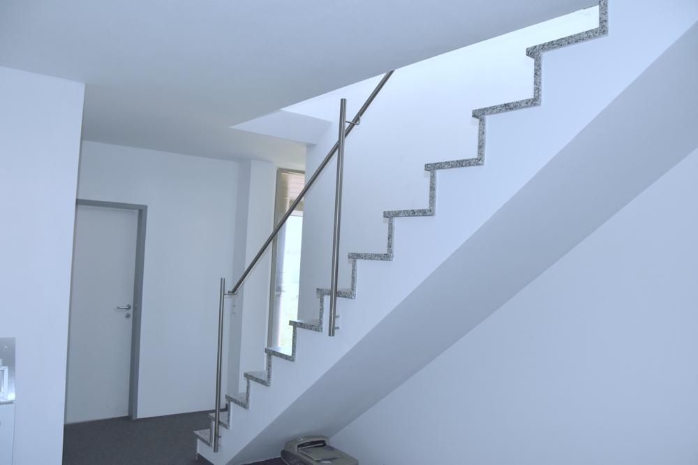 Treppe von der 3. Etage in die 4. Etage