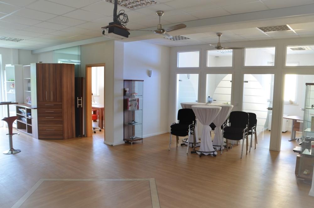 Das Zentrum des Büros
