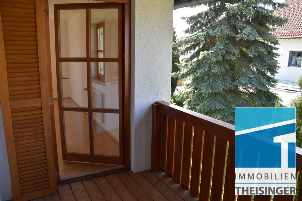 Balkon, Eingang Wohnzimmer