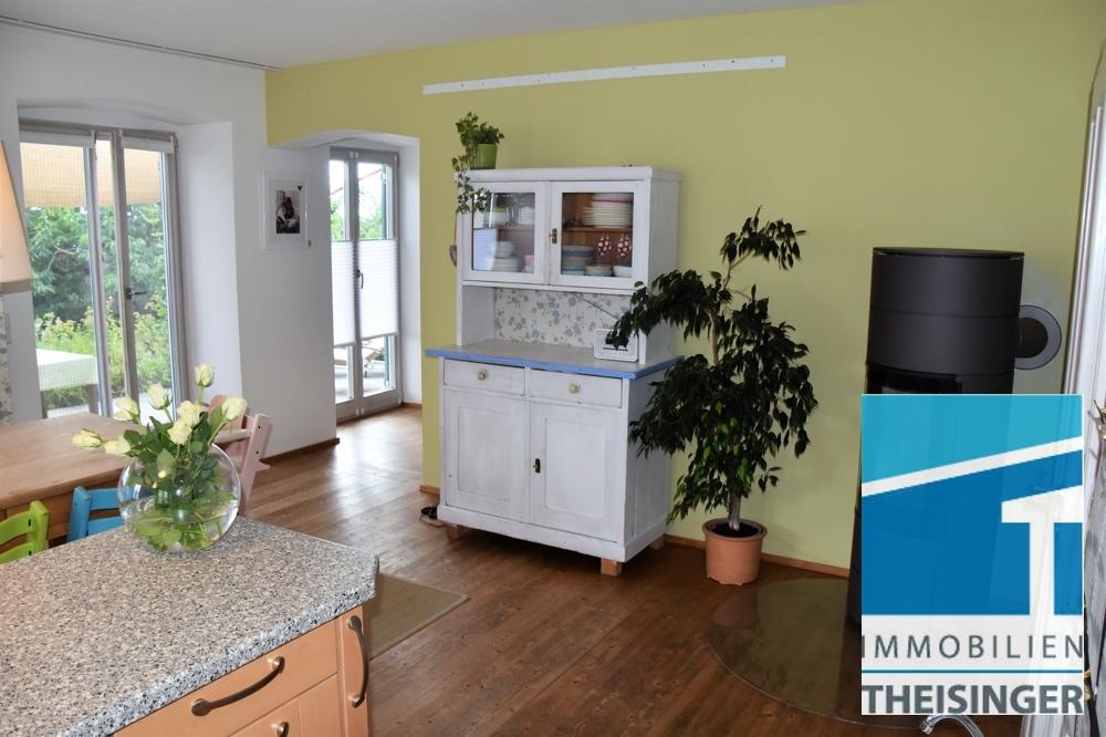 Küche Sicht Terrasse