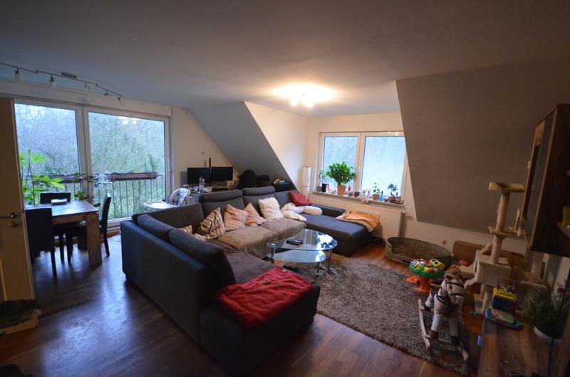 Wohnzimmer Wohnung 3 DG