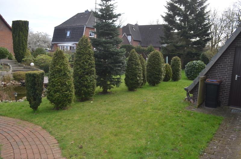 Gartenabschnitt