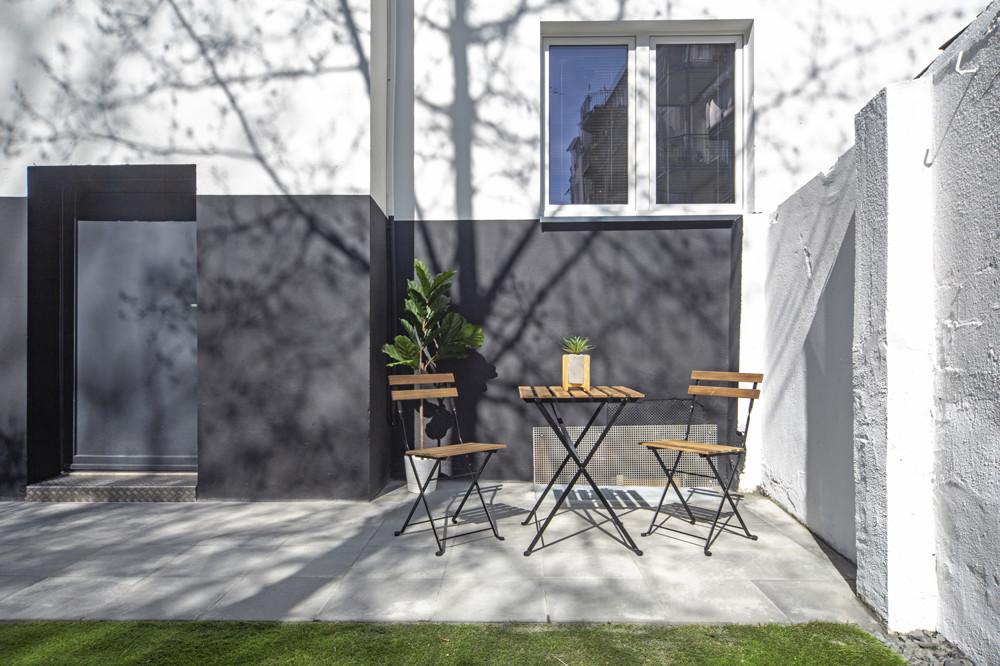 Terrasse für alle Bewohner
