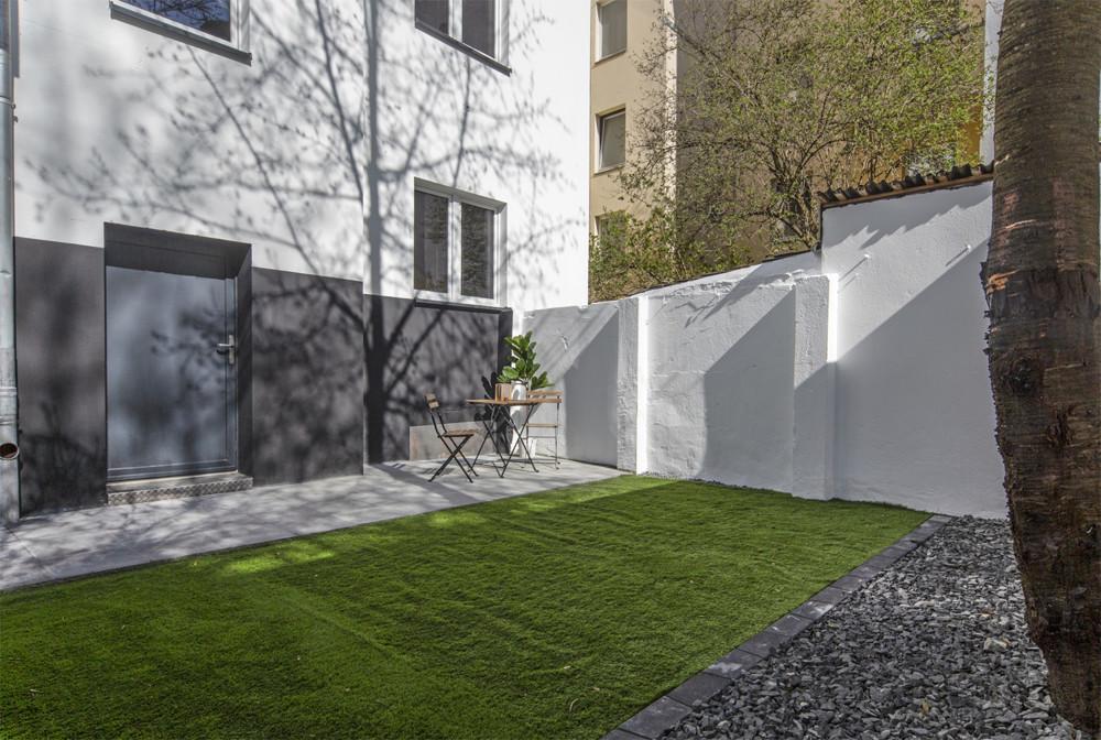 Garten für alle Mieter