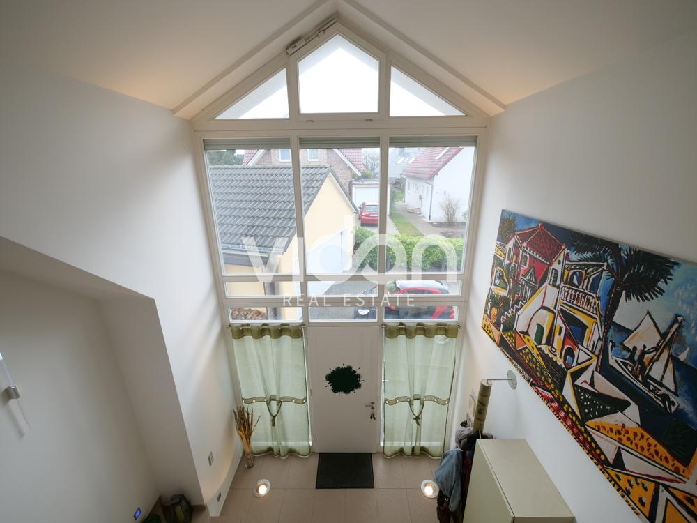 Blick vom Obergeschoss
