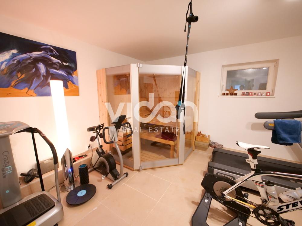 Sauna/Fitnessbereich