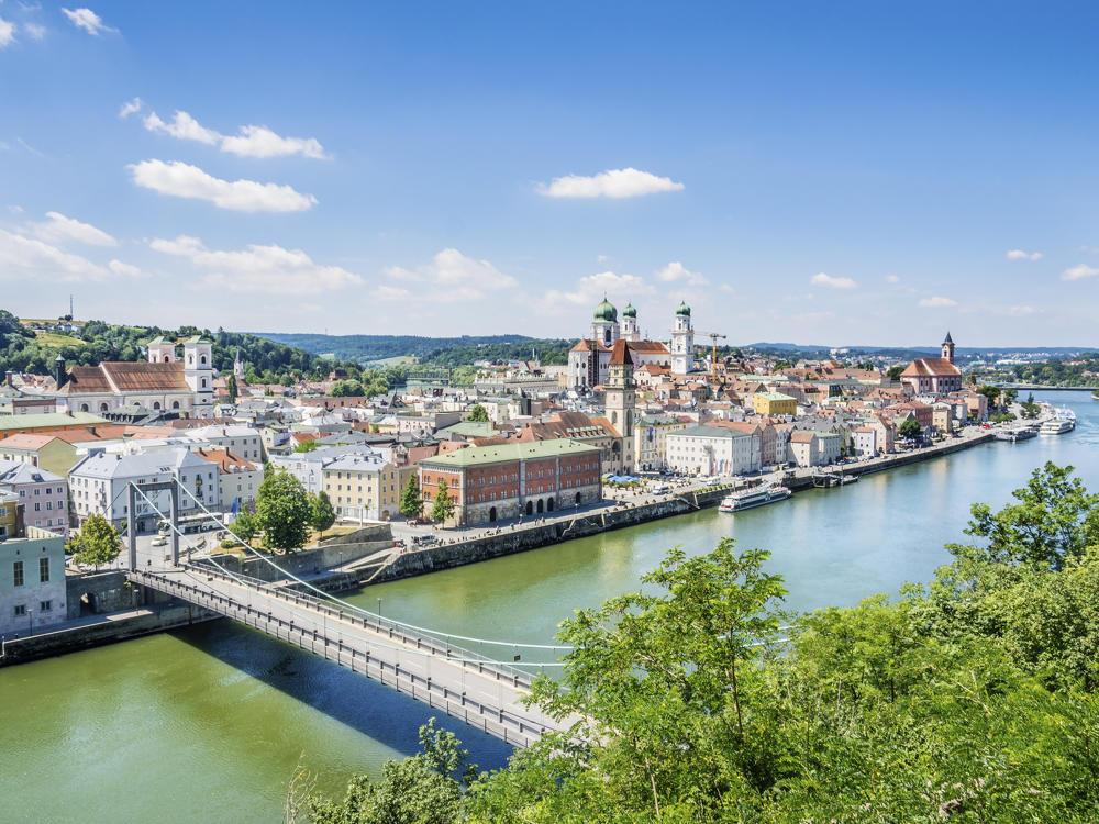 Drei-Flüsse-Stadt-Passau