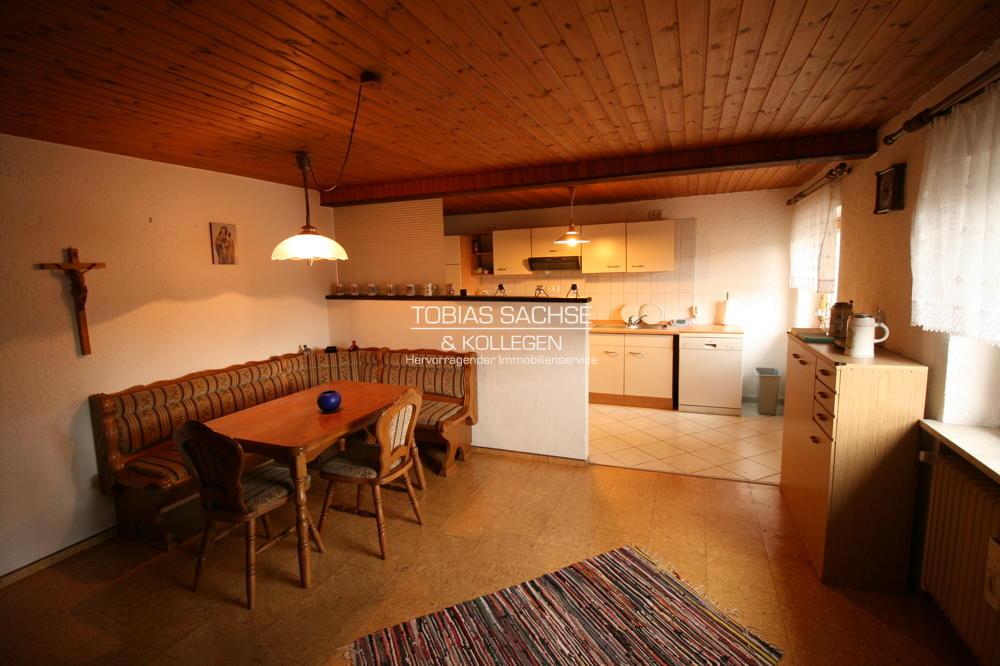 Küche - Essbereich Hauptwohnung