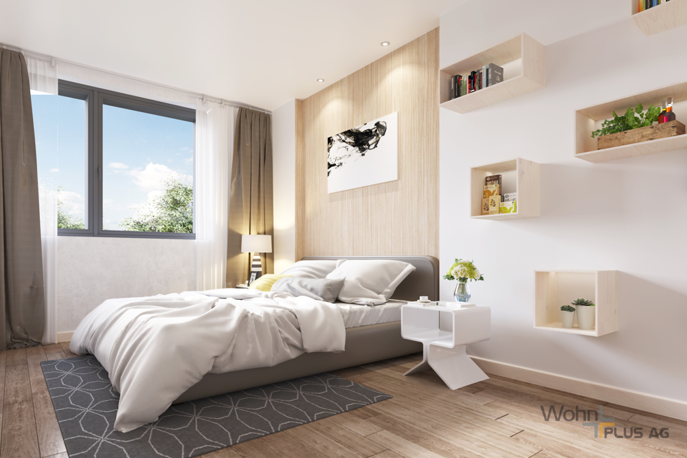 Beispiel Schlafzimmer WohnPLUS AG