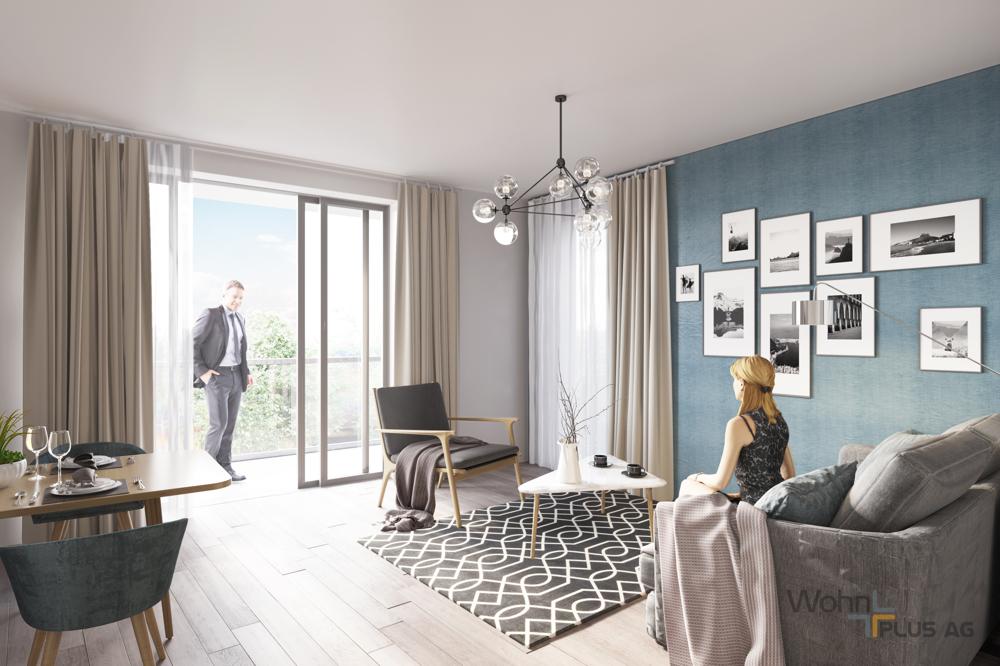 Beispiel Wohnzimmer WohnPLUS AG