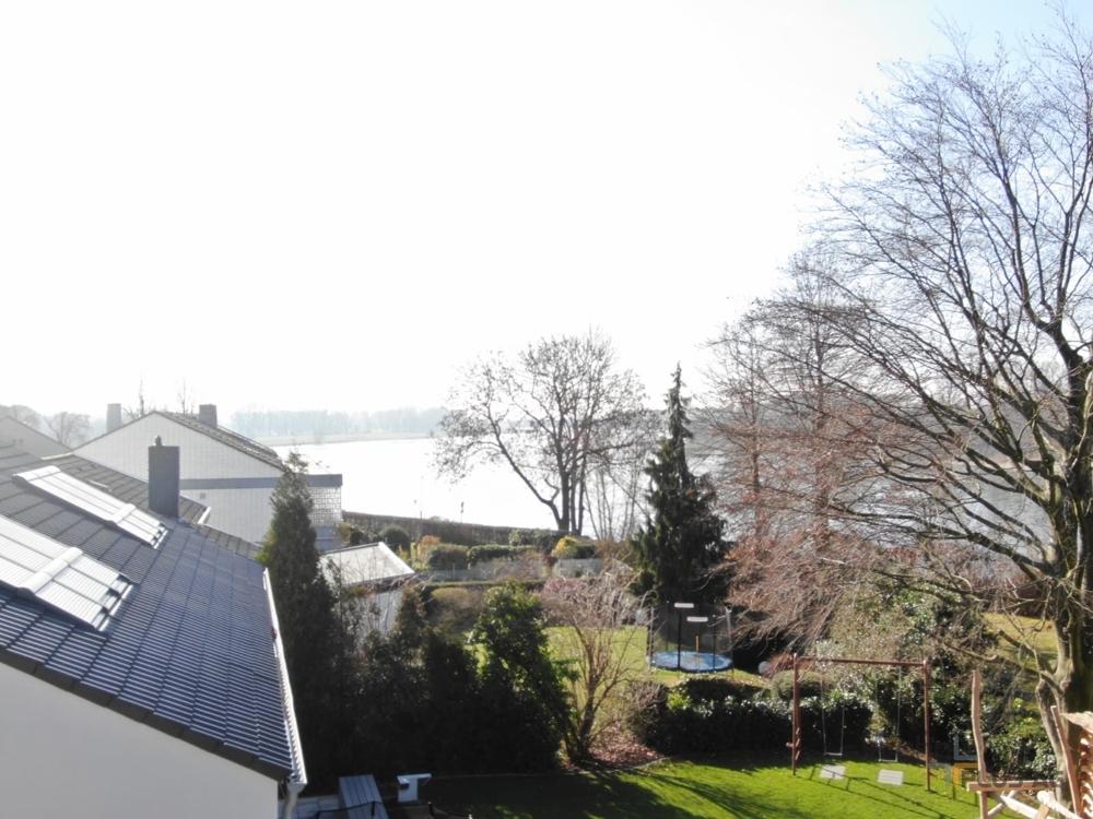 Aussicht von Terrasse Rhein WohnPLUS AG