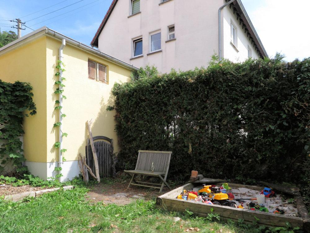Garten hinten
